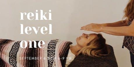 Wellbeing: Reiki Level 1 tickets