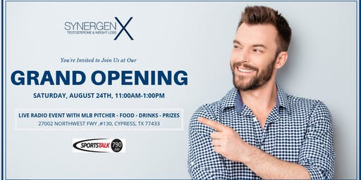 Grand Opening - Synergenx New Location in Cypress, TX
