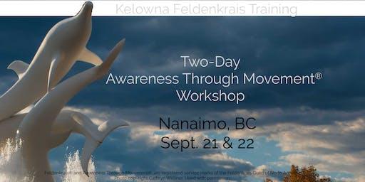 Two Day Awareness Through Movement Workshop (Nanaimo)