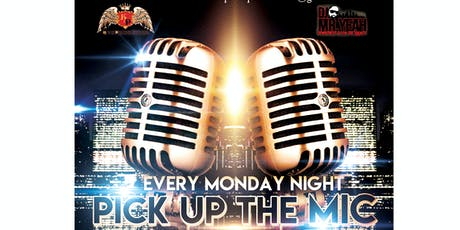 """PICK UP THE MIC"" 