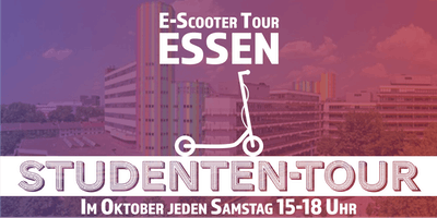 "E-Scooter Tour: ""Studententour\"" Essen"
