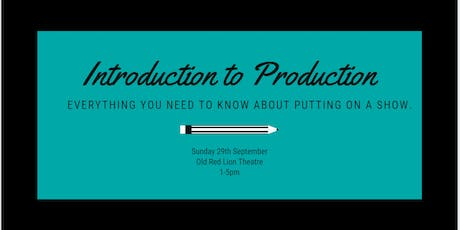 Introduction to Production tickets