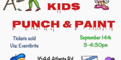 Kids Punch & Paint
