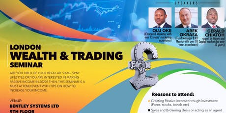 London Wealth & Trading Seminar tickets