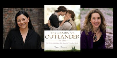 Diana Gabaldon and Tara Bennett sign THE MAKING OF OUTLANDER THE SERIES - The Official Guide to Seasons Three and Four