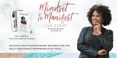 Mindset to Manifest LIVE tickets