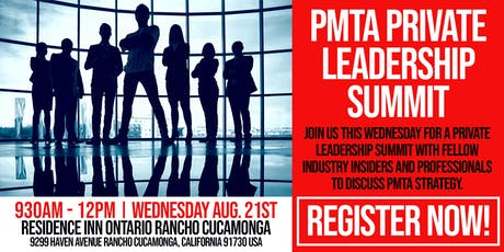 PMTA Leadership Summit tickets