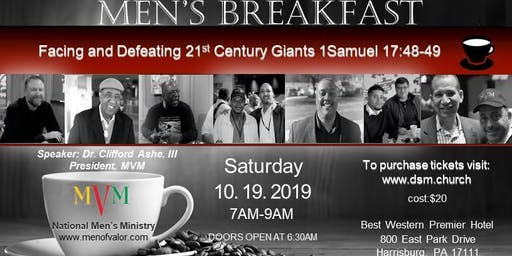DaySpring Ministries Men's Breakfast