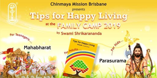 Tips For Happy Living , Family Camp 2019