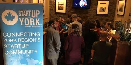 Startup Drinks York Region tickets