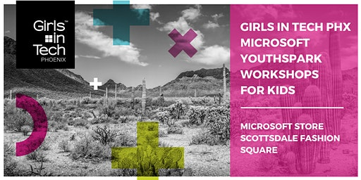 Girls in Tech - Microsoft YouthSpark Workshop for Kids