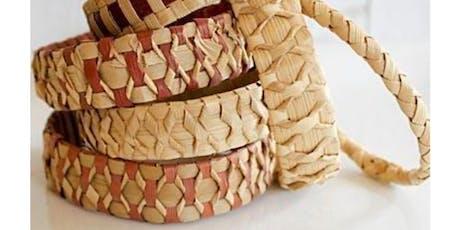 Cedar Weaving Workshop tickets
