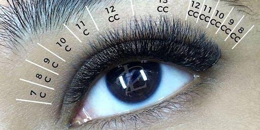 Classic Eyelash Extensions Dallas Certification Class