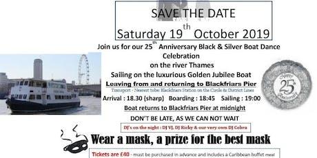 CUKA 25th Anniversary Boat Dance tickets