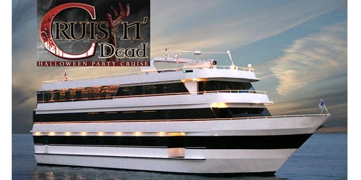 Halloween Party Cruise Marina Del Rey October 26th 8:00 PM Gold Star