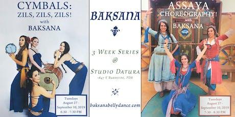 Baksana Classes at Datura : Cymbals & Assaya tickets