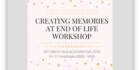 Creating Memories at End of Life Workshop tickets