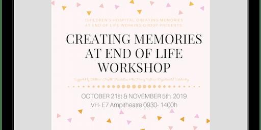 Creating Memories at End of Life Workshop