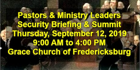 Pastors & Ministry Leaders Summit, Fredericksburg, VA (Complimentary Lunch) tickets