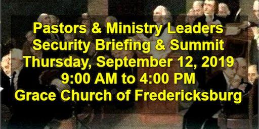 Pastors & Ministry Leaders Summit, Fredericksburg, VA (Complimentary Lunch)