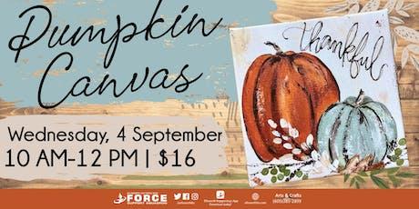 EAFB Pumpkin Canvas tickets