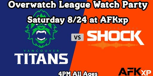 SF Shock Viewing Party @ AFKxp