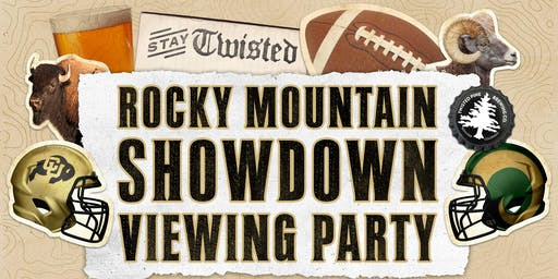 Rocky Mountain Showdown Viewing Party