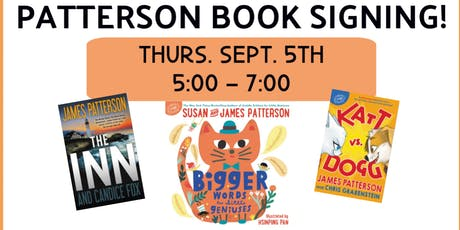 James & Susan Patterson Book Signing tickets