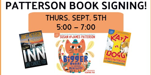 James & Susan Patterson Book Signing