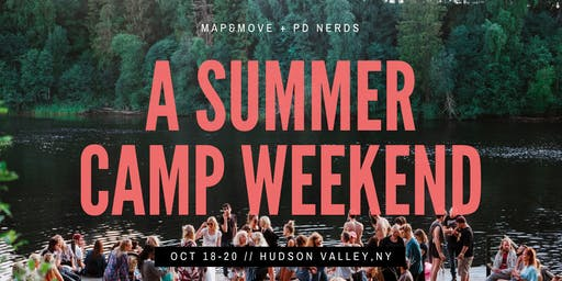 Summer Camp Weekend | Map&Move and Personal Development Nerds