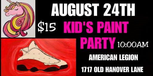 Paint Party (American Legion)