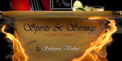 Spirits&Strings-A Siskiyou Violins Fundraiser Dinner-Ashland, OR