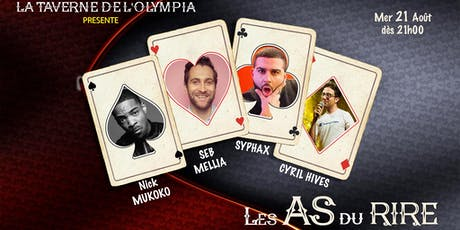 Les AS du Rire (Special Event) tickets