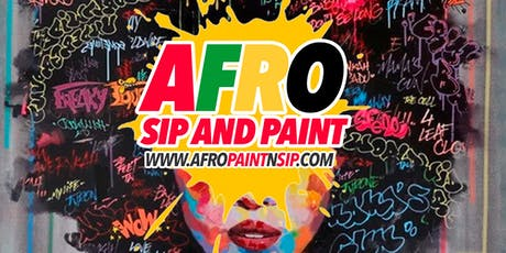 "Afro Sip N Paint ATL  ""AfroBeats HipHop RnB, Food, Drinks,  PAINT and more"" tickets"