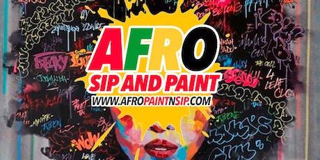 """OPEN BAR/BYOB AfroPaintNSip ATL  """"AfroBeats,Hip Hop,RnB,Food,Drinks,PAINT"""" tickets"""