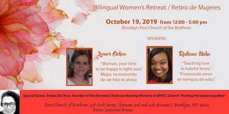 Bilingual Women's Retreat tickets