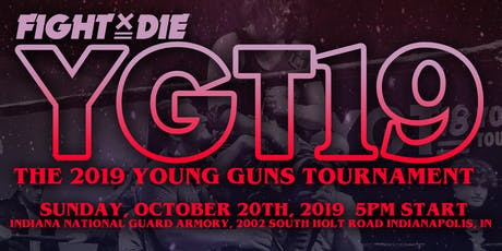 LIVE PRO WRESTLING: The 2019 Young Guns Tournament tickets