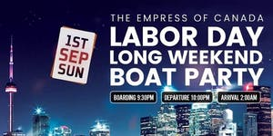 Toronto Labor Day Long Weekend Boat Party // Sun Sept...