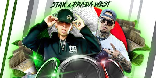 Stax and prada west live