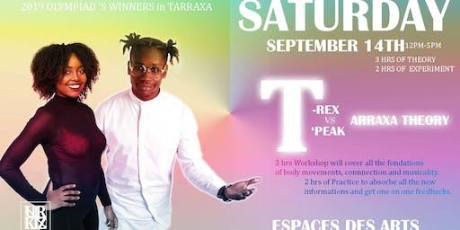T-Rex vs T'Peak Tarraxa Theory