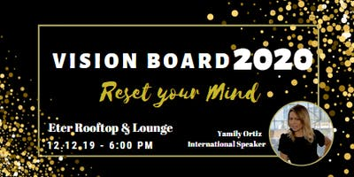 Vision Board 2020 Reset your Mind