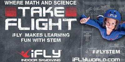 STEM openhouse at iFLY SF Bay