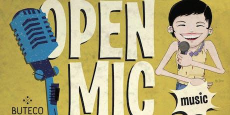 Open Mic tickets