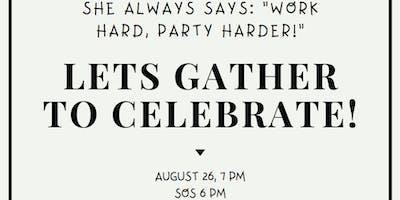 "She always says \""Work Hard, Party Harder!\"""