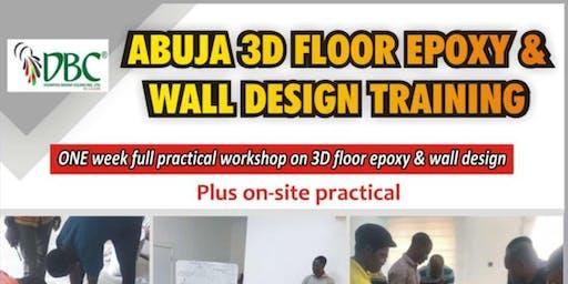 3D Floor Epoxy Design Training