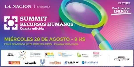 SUMMIT RECURSOS HUMANOS - Cuarta edición entradas