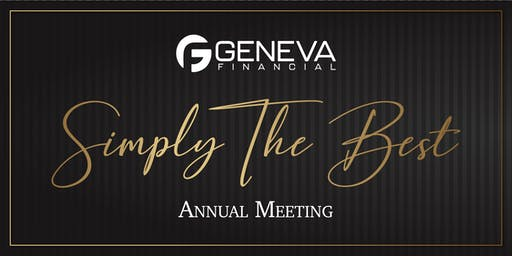 2019 Geneva Annual Meeting: Simply The Best