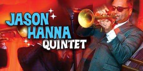 Jason Hanna Quintet at Jazzville Palm Springs tickets