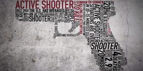Active Shooter Presentation tickets