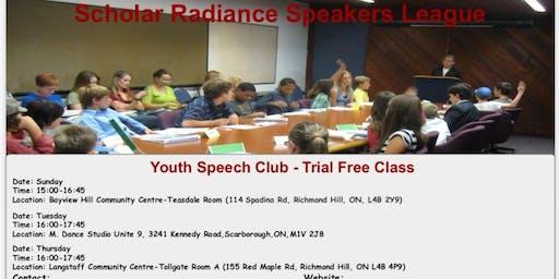 Youth Public Speech